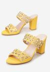 Żółte Klapki Olereisis