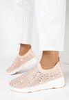 Różowe Sneakersy Acanos
