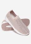 Beżowe Sneakersy Acanos