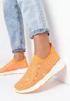 Pomarańczowe Sneakersy Acanos