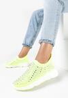 Żółte Sneakersy Acanos