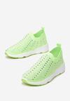 Limonkowe Sneakersy Acanos