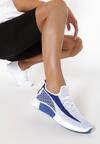 Granatowe Buty Sportowe Jenierea
