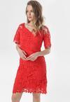 Czerwona Sukienka Petipheme
