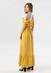 Żółta Sukienka Callagana