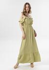 Zielona Sukienka Callagana