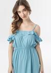 Niebieska Sukienka Callagana