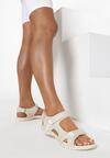 Beżowe Sandały Nairise