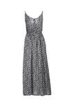 Granatowa Sukienka Evathea
