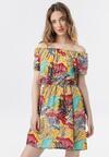 Żółta Sukienka Azave
