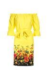 Żółta Sukienka Pasinei