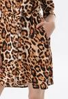 Camelowa Sukienka Metiomilia