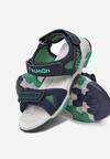 Niebiesko-Zielone Sandały Ipharope