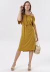 Żółta Sukienka Adrashell