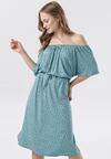 Jasnoniebieska Sukienka Adrashell