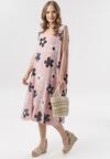Różowa Sukienka Lagutina