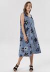 Niebieska Sukienka Lagutina
