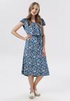 Niebieska Sukienka Sereirial