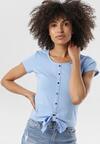 Jasnoniebieska Bluzka Aegareida