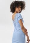 Jasnoniebieska Sukienka Railea