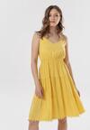 Żółta Sukienka Pasithise