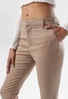 Ciemnobeżowe Spodnie Phiorope