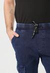 Granatowe Spodnie Yasea