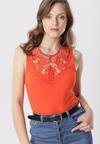 Pomarańczowa Bluzka Nephethise