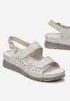 Srebrne Sandały Amasura