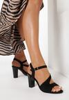 Czarne Sandały Callise