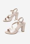 Beżowe Sandały Callise