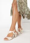 Beżowe Sandały Elleonore