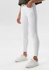 Białe Spodnie Skinny Saphanea
