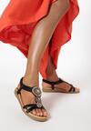 Czarne Sandały Doriefer