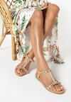 Beżowe Sandały Nonalodia