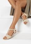 Beżowe Sandały Pereipheme