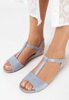 Niebieskie Sandały Pereipheme
