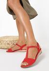 Czerwone Sandały Pereipheme