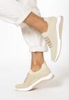 Beżowe Buty Sportowe Iphamia