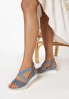 Niebieskie Sandały Metinea