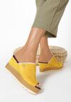 Żółte Klapki Neamelira