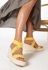 Żółte Sandały Adreanella