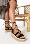 Czarne Sandały Arriefer