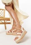 Beżowe Sandały Arriefer
