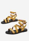 Żółte Sandały Sagitta