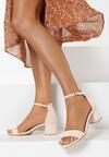 Beżowe Sandały Alluva