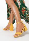 Żółte Sandały Alluva