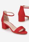 Czerwone Sandały Alluva