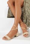 Beżowe Sandały Coraeris