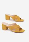 Żółte Klapki Cheririen